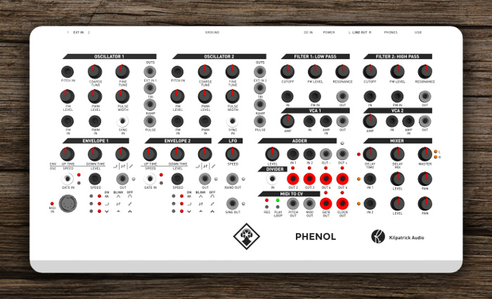 PHENOL Panel Layout